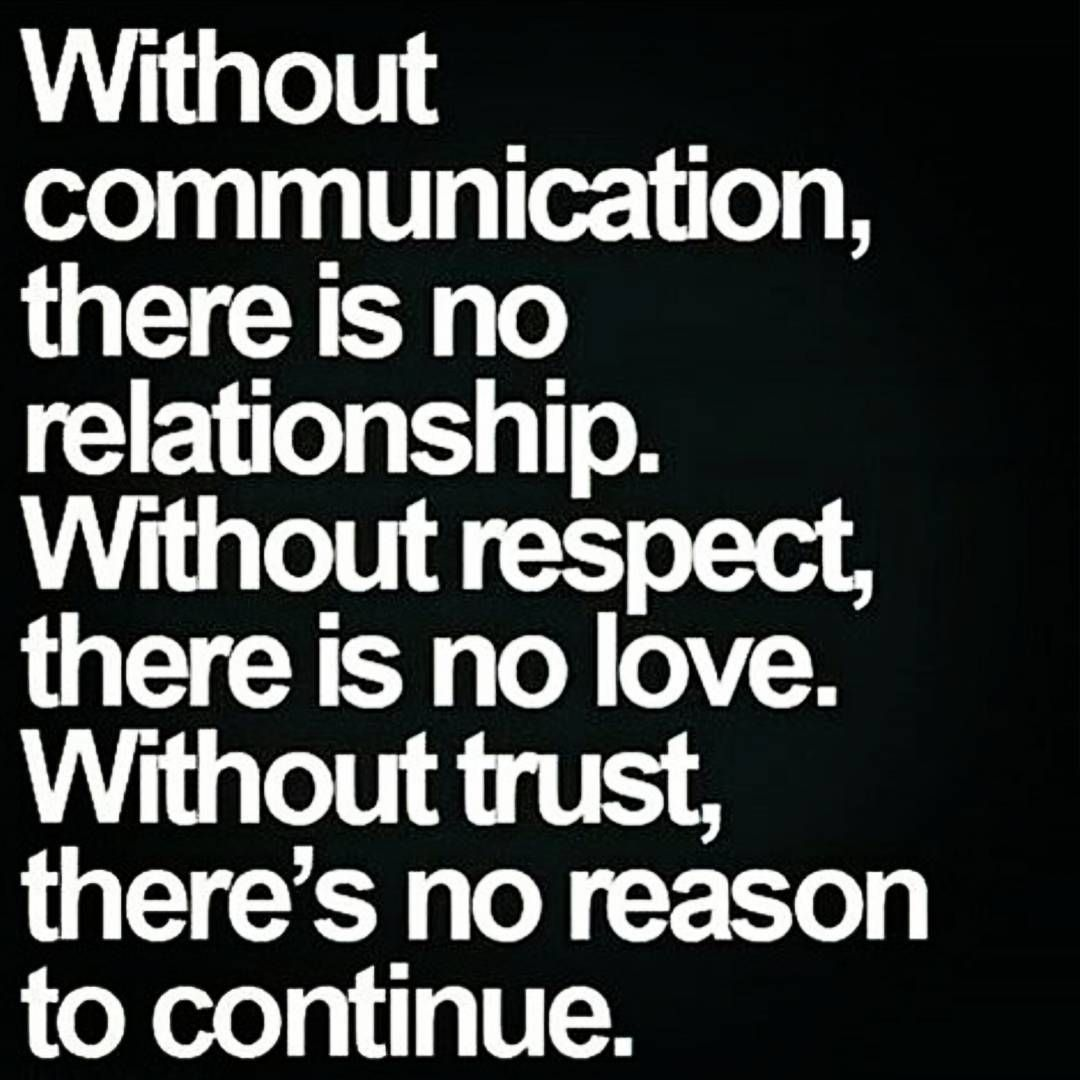 What Is A Relationship Without Trust Quotes