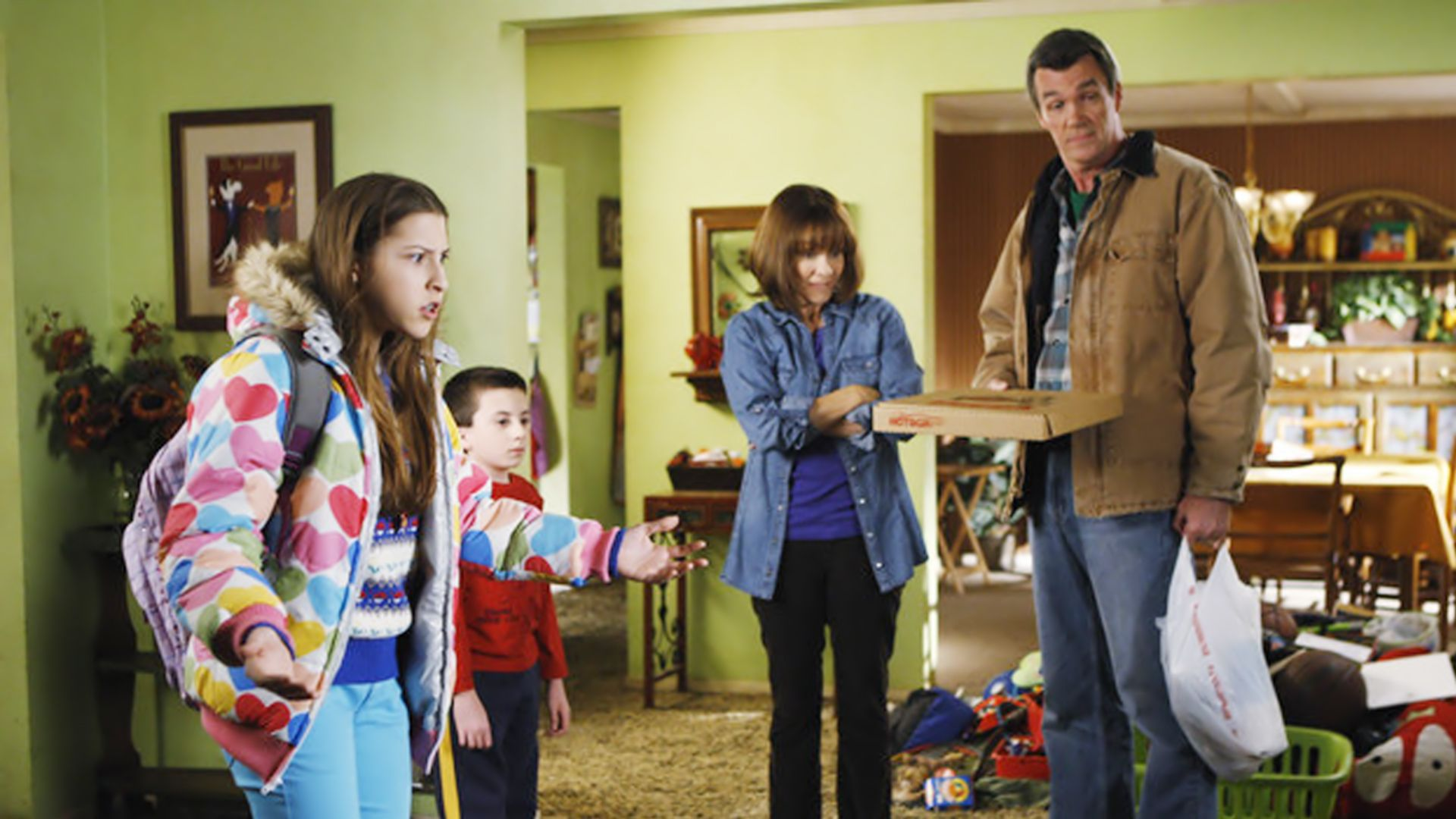 the middle | Na volta de The Middle, os pais que mandam em casa. Ou melhor, pensam ...