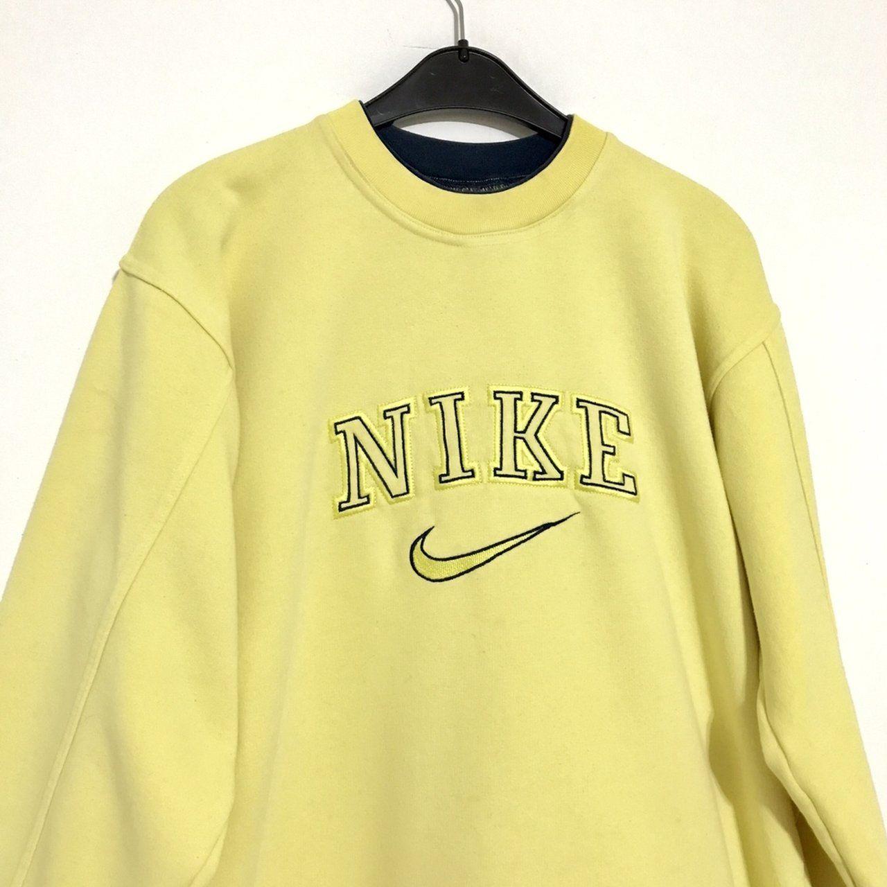 Vintage Nike sweatshirt Size M womens Good condition... - Depop