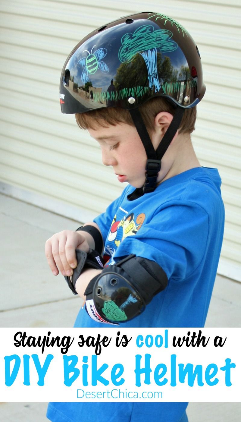 Design It Yourself Bike Helmets And Pads For Kids Kids Bike
