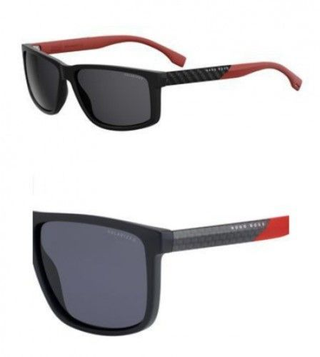 9d21b0e592 HUGO BOSS BOSS by Men s B0879s Rectangular Sunglasses