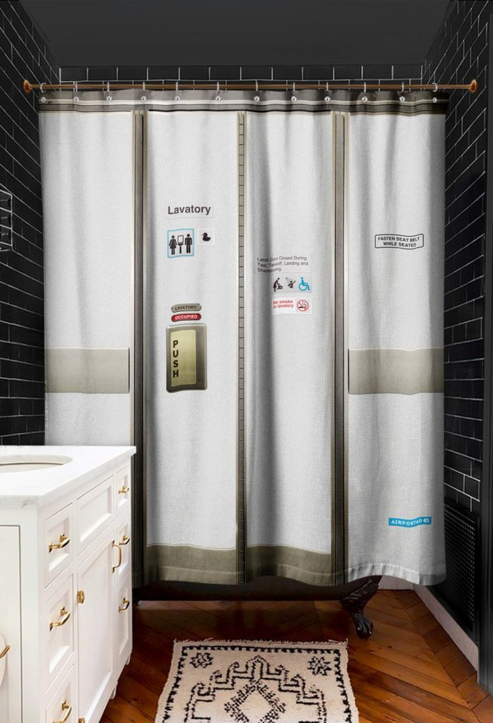 Airplane Shower Curtain Hooks