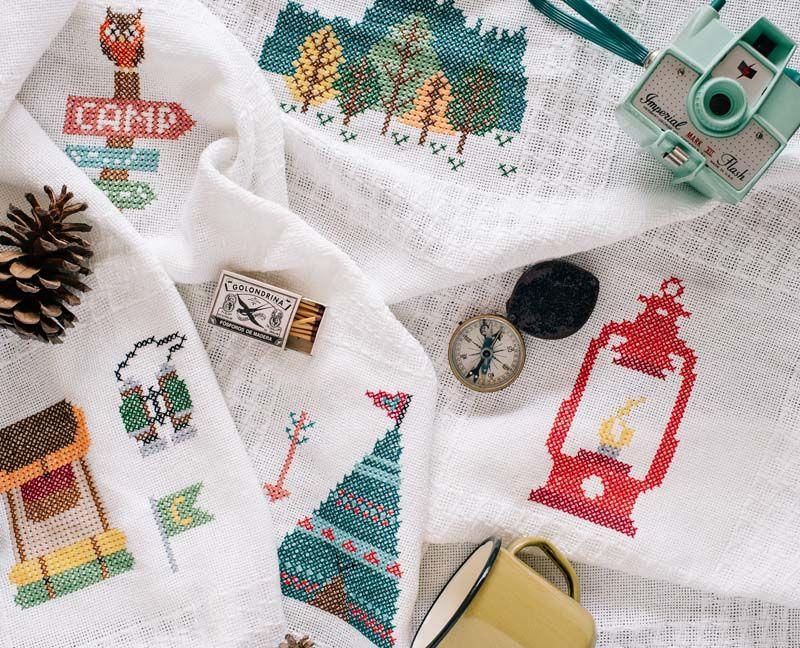 Cross Stitch Afghan - Main | Crafts | Pinterest | Tarjetas