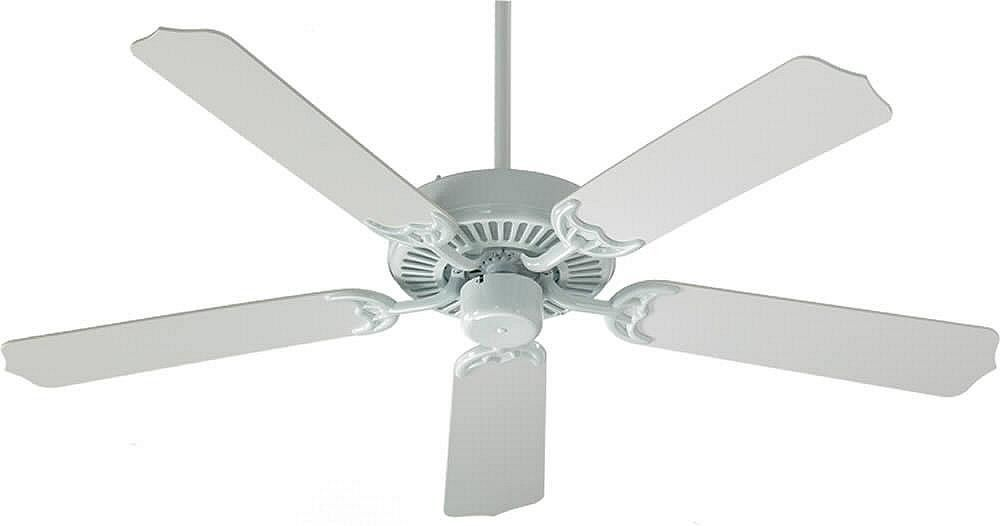 "0-005787>Capri 52"""" 5-Blade Ceiling Fan White"