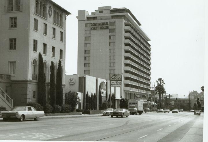 Continental Hyatt Hotel On The Sunset Strip Hyatt Hotels Sunset Hotel