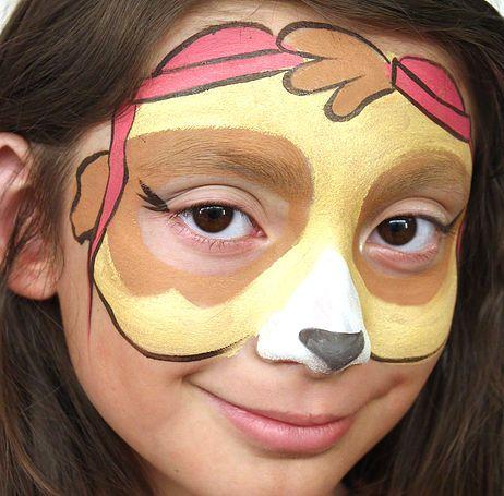 monliet face paint party paw patrol pinterest maquillage enfant maquillage et patrouille. Black Bedroom Furniture Sets. Home Design Ideas