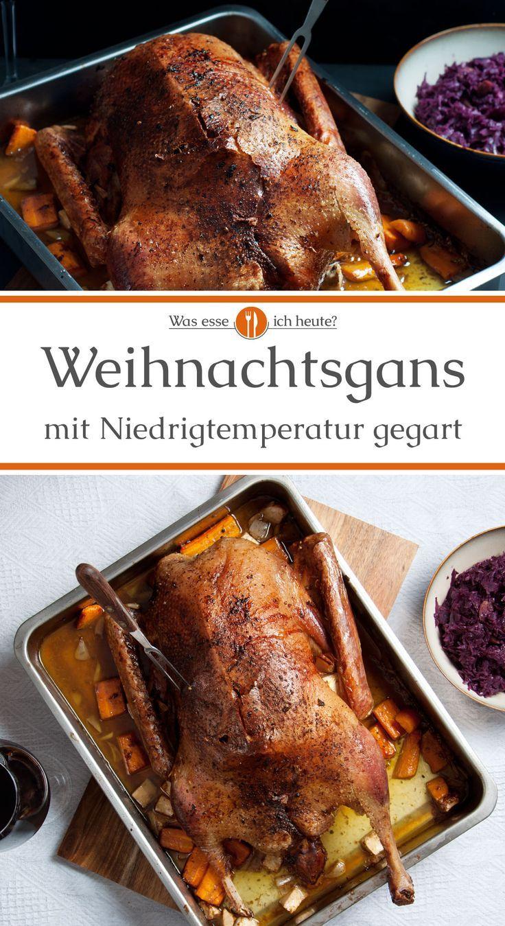 Photo of Gänsebraten mit Niedrigtemperatur gegart – Was esse ich Heute?