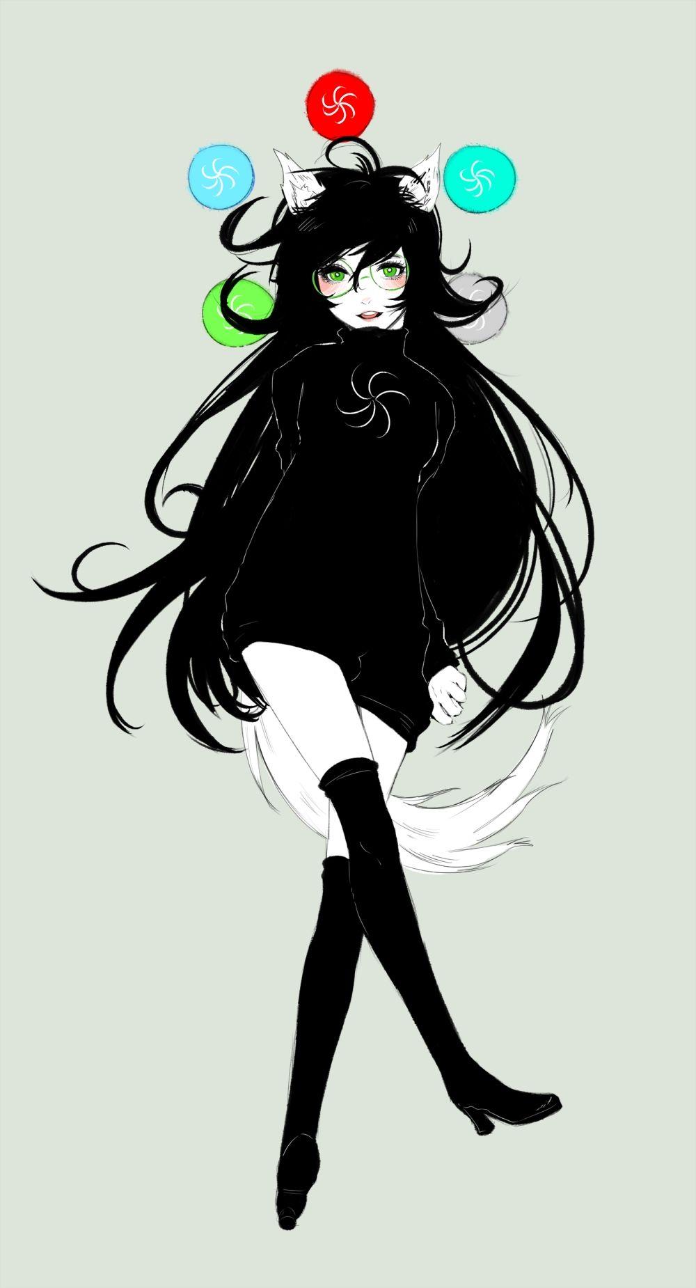 Jade Harley 1259718 Zerochan Homestuck Anime Harley
