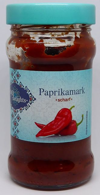 LIDL - 1001 delights Paprikamark scharf | Gefüllte