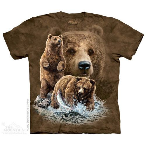 The Mountain Find 10 Brown Bears T-Shirt