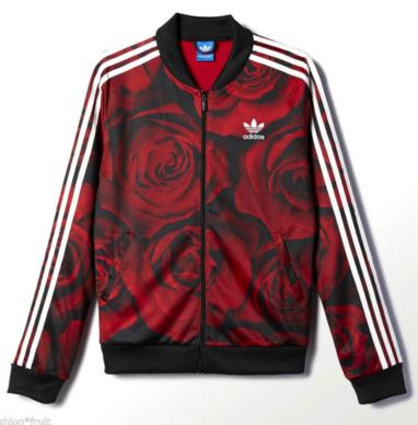 info for 80803 33509 Adidas Originals Floral Rose Jacket