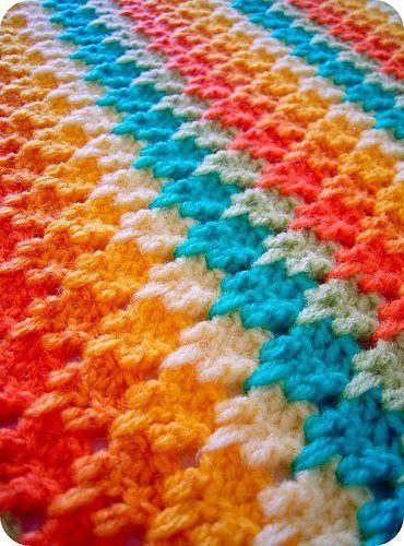 Combinando Colores Al Crochet Con Diagrama Crochet Y Dos Agujas Puntadas De Ganchillo Mantas Tejidas Tejidos De Ganchillo