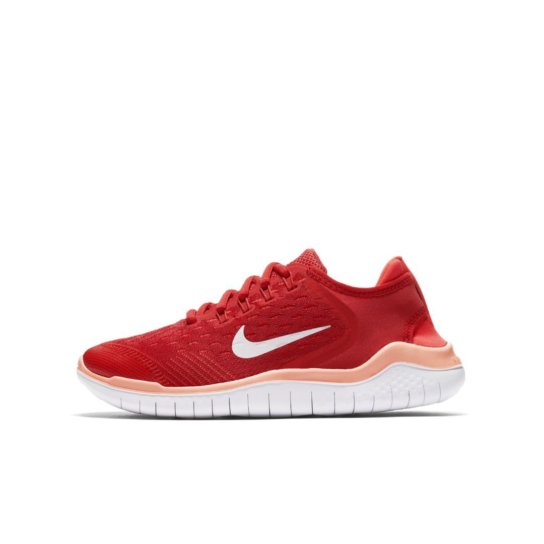 cheap for discount ca83b f6c1d Nike Free RN 2018 Big Kids  Running Shoe Size 3.5Y (Speed Red)