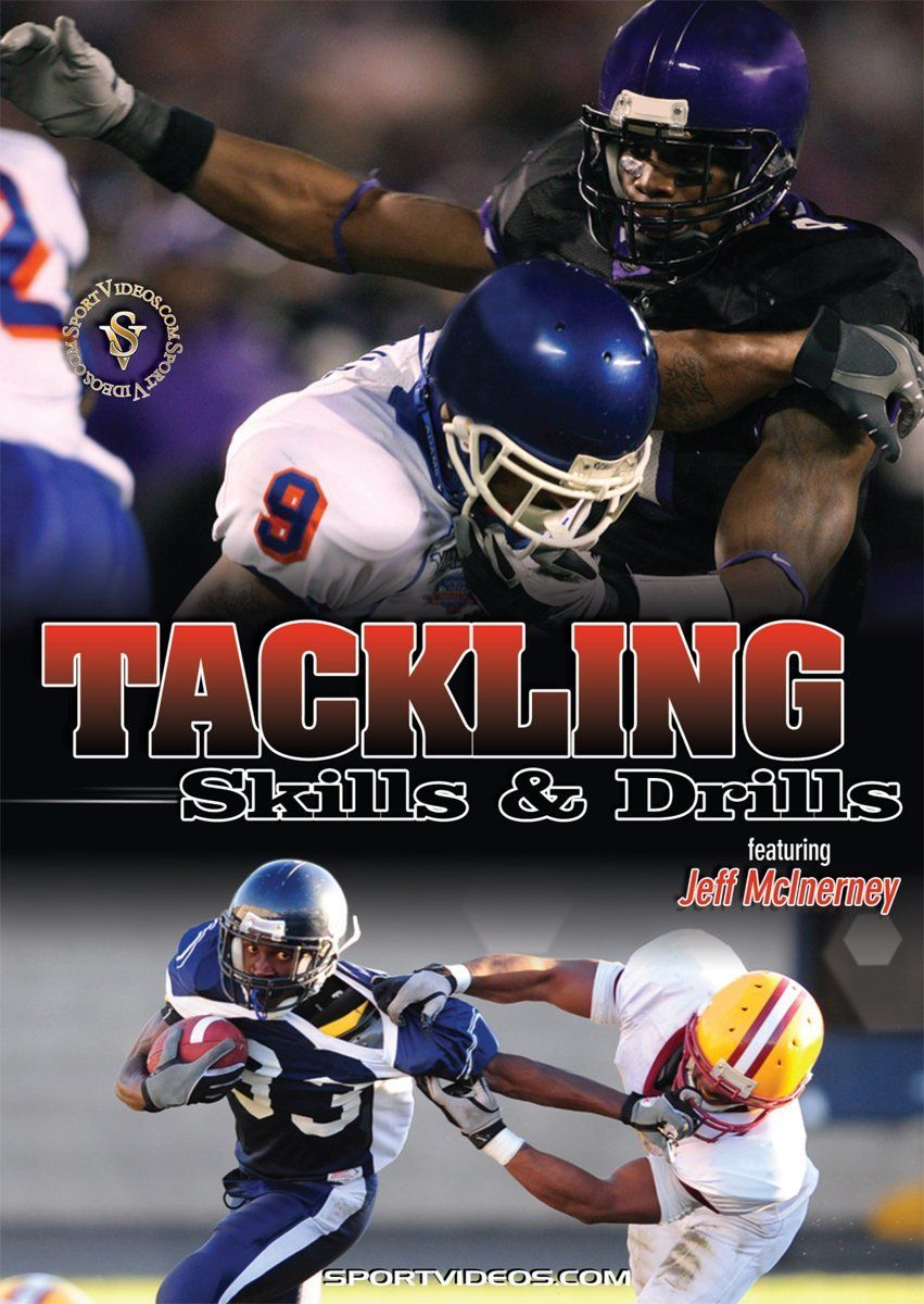 Tackling Skills and Drills DVD or Download Free Shipping
