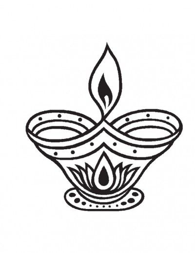 Diwali Coloring Pages 3 Which Are Suitable For Boys And Girls