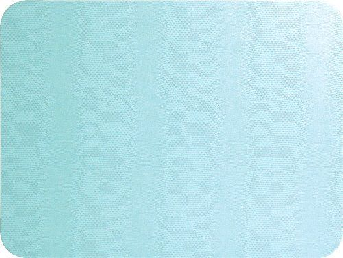 Placemats Set Of 4 Wipe Off Light Blue Leather Look By Caspari 42 99 See Our Listings For Matching Paper Napkins An Guest Towels Dining Place Mats Placemats