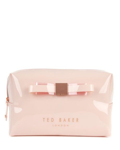 254e4d1754 MAISA - Large bow washbag - Nude Pink | Womens | Ted Baker | Wish ...