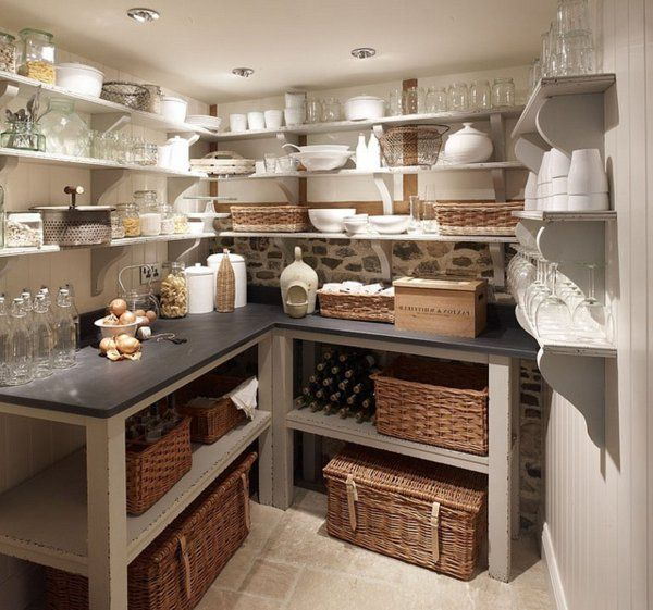 Organisieren Speisekammer tisch korb regale idee Dream House - körbe für badezimmer
