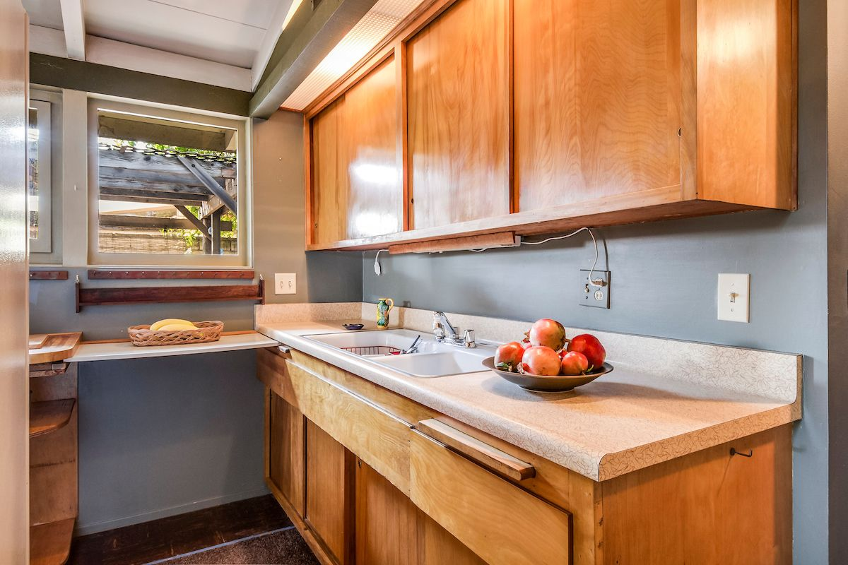 Cliff May Original Birch Kitchen Cabinets Mid Century Modern Kitchen Birch Kitchen Cabinets Cliff May