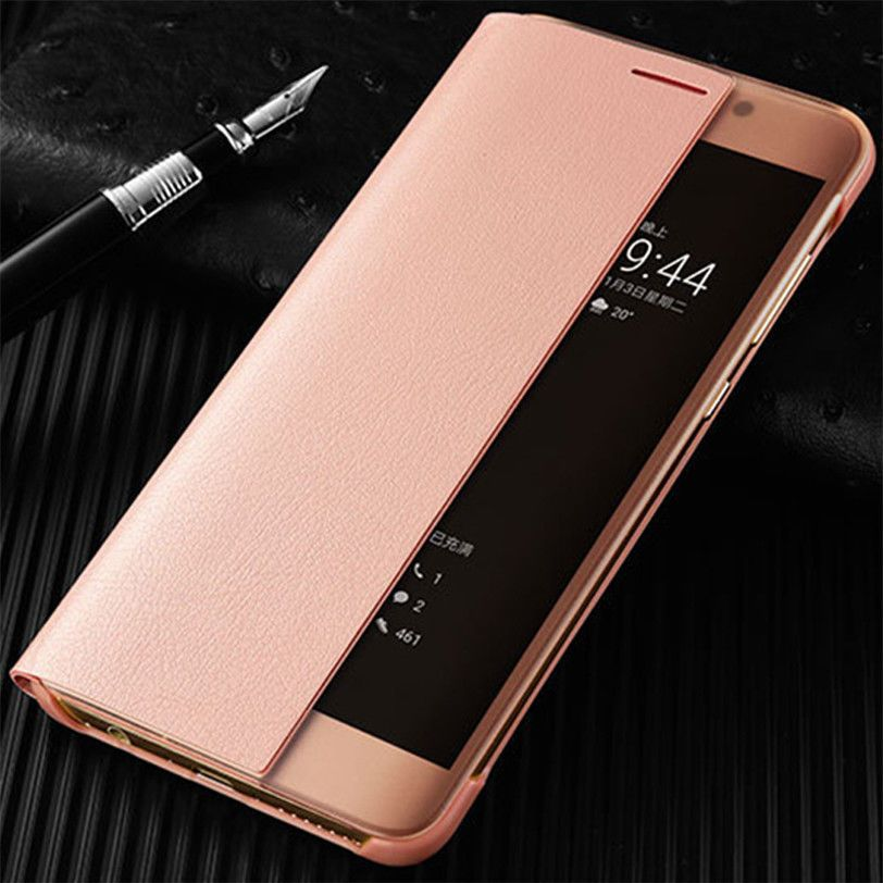 sports shoes 2ff0d 90842 7.38AUD - For Huawei P10 Plus Mate 9 Pro Luxury Smart View Leather ...