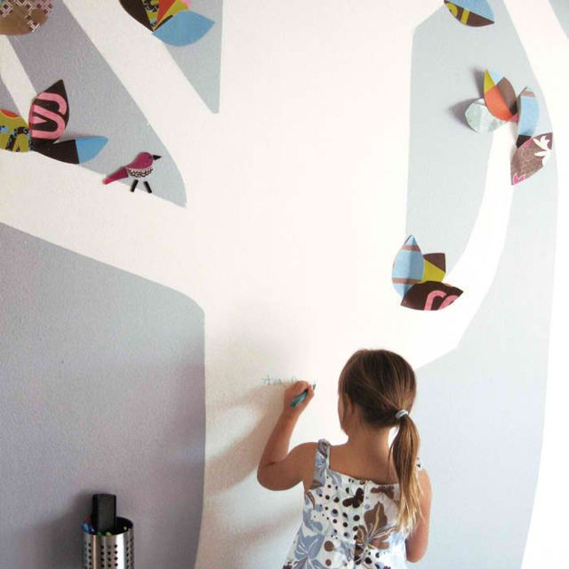 Dry Erase Paint For A Kid Room Wall Dry Erase Paint Creative