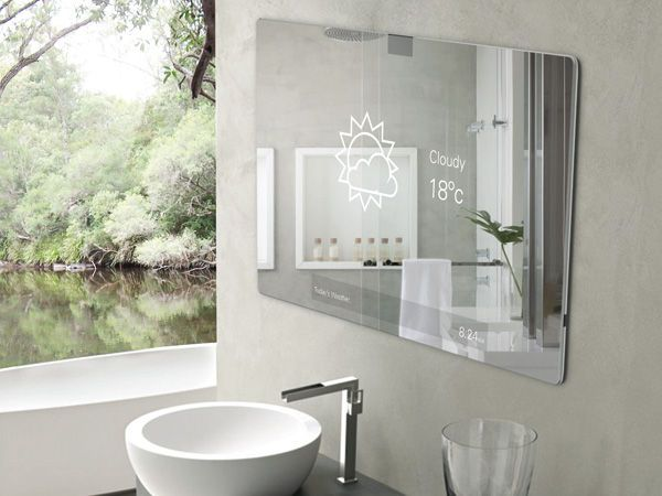 Image On Interactive Bathroom Entertainment Systems