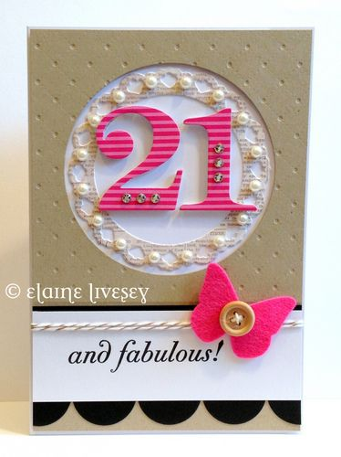 21st Birthday Card So Classy My Sis Would Love This 21st Birthday Cards Big Birthday Cards Birthday Cards