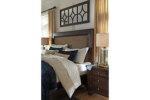 399 Dark Brown Roddinton Nightstand View 3 1 Electrical Outlet And 2 Usb Ports Inside