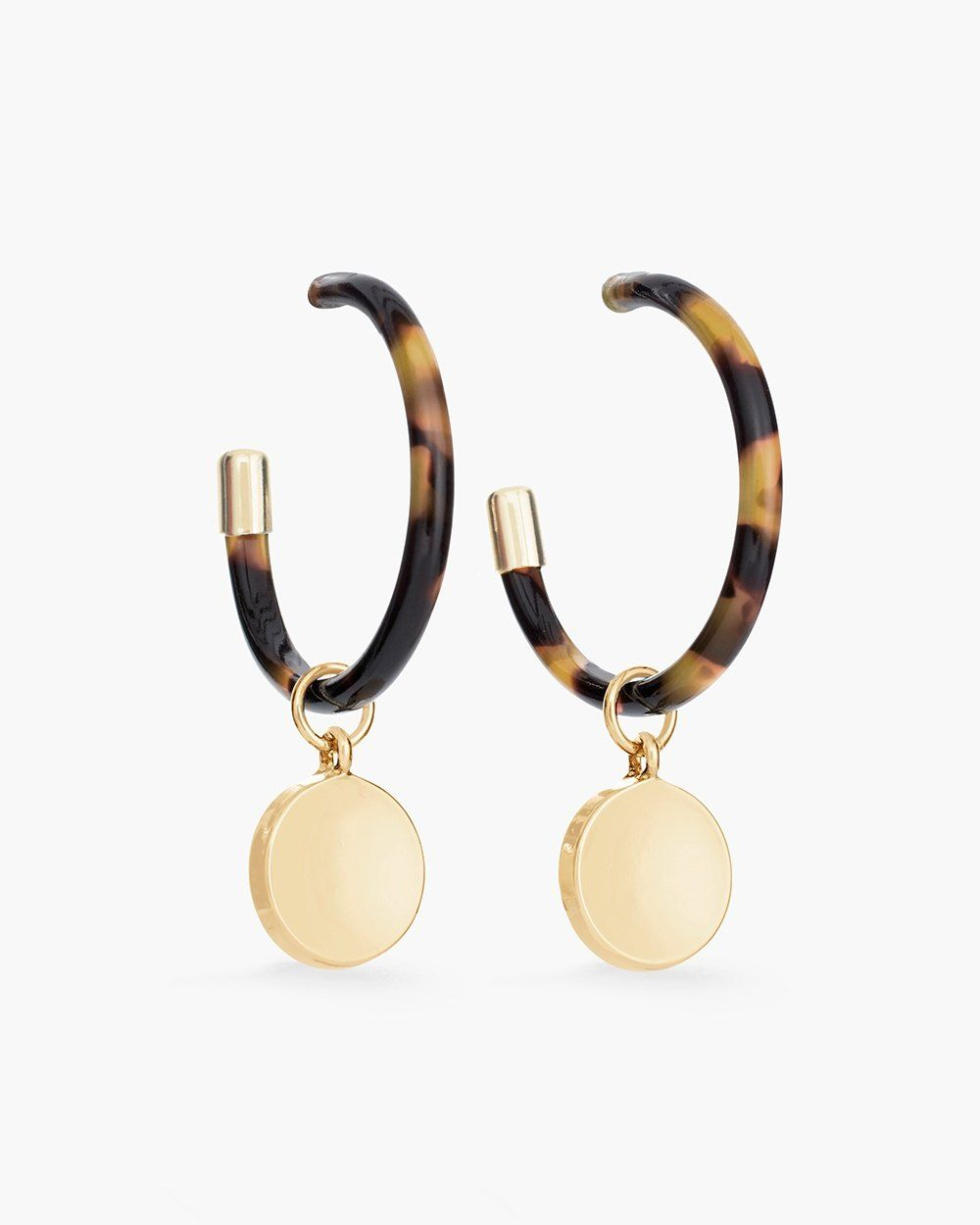 Chico S Mollie Hoop Earrings Aros Cafe Chicas