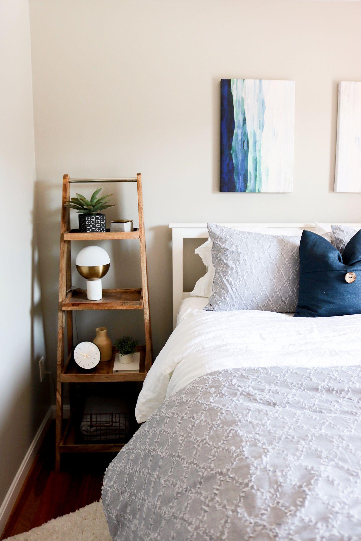 A Coastal Bedroom Update - Lauren Loves | Bedroom, Walmart ...