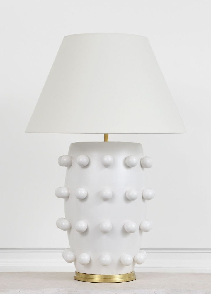 Linden table lamp by kelly wearstler
