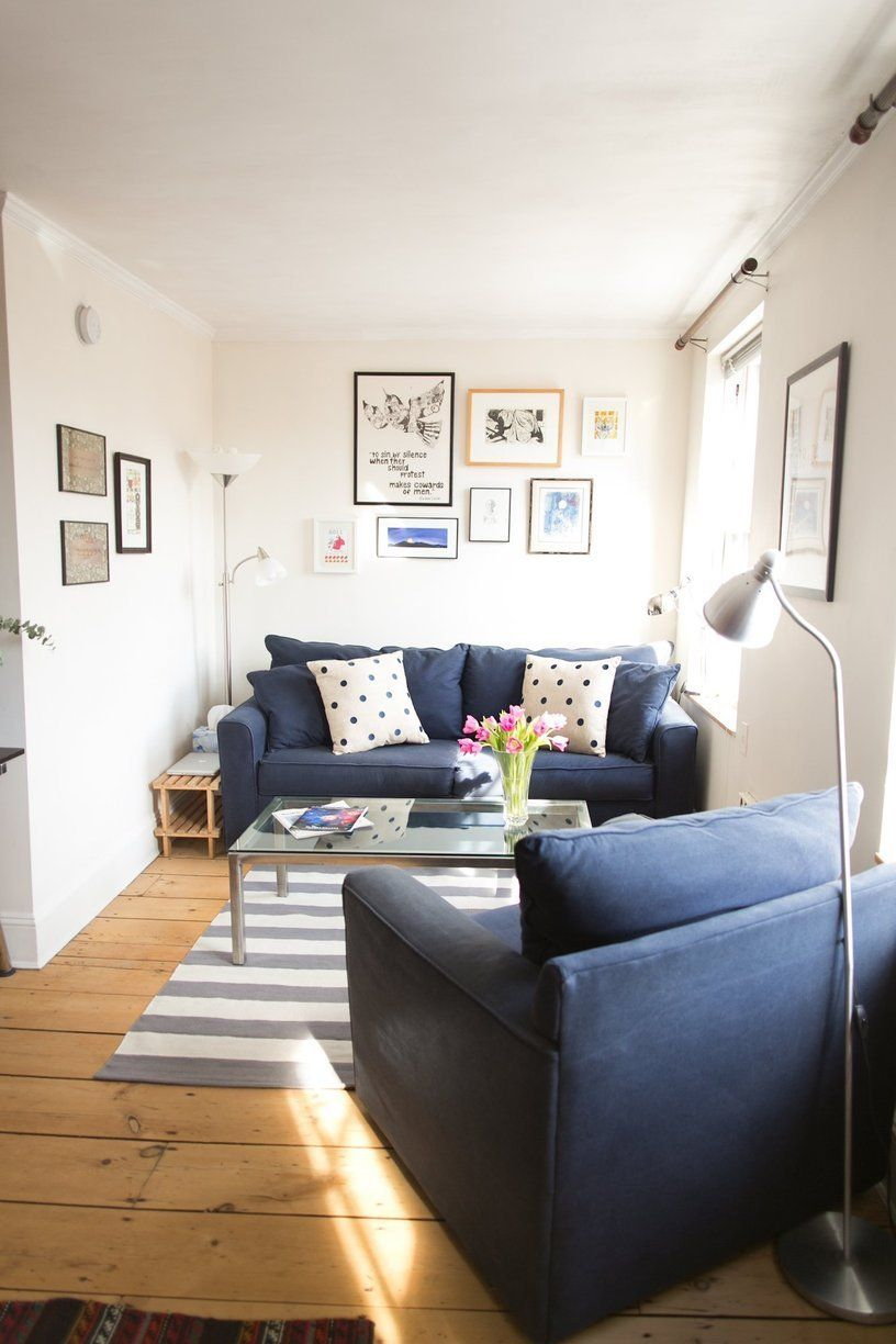 Small Living Room Apartment Therapy: Jessie & Jon's Colorfully Collected Home