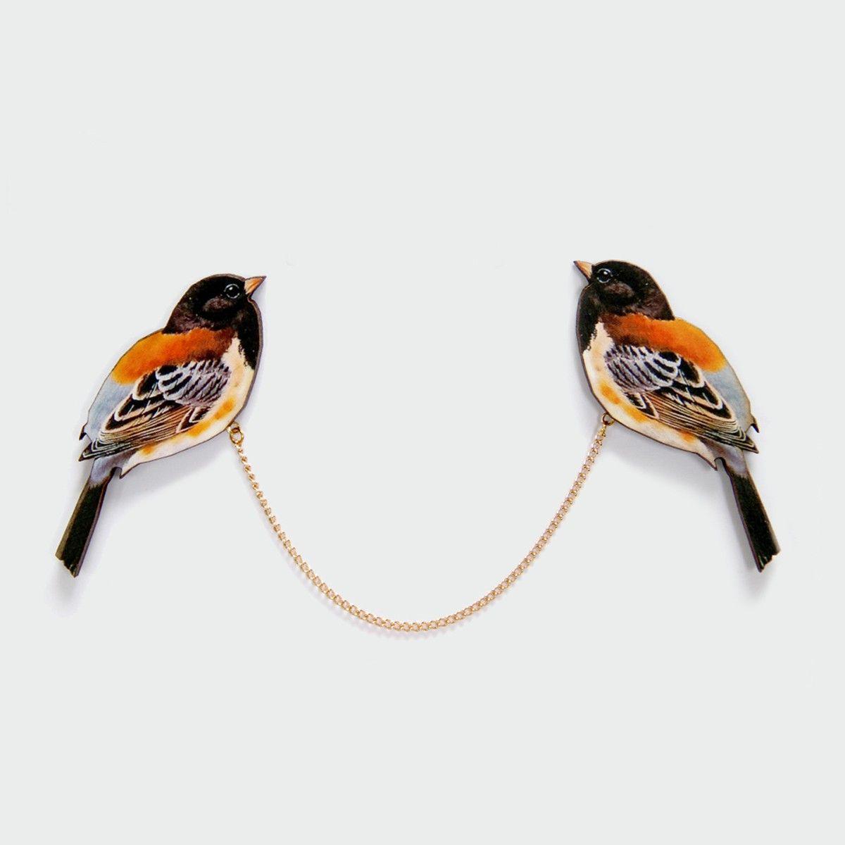 Rad | Clips Col Orange Bird