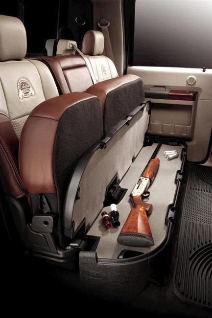 Love The Gun Safe In Car Able To Be Locked Up And Under Back Seat Of Truck