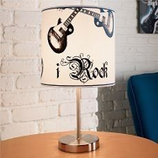 Rock And Roll Home Decor Student Lounge N Table Lamp