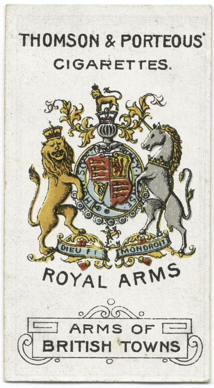Royal Arms  From New York Public Library Digital Collections