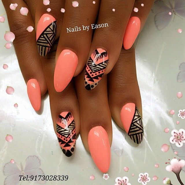 Savvyrebel Black Nail Designs Nail Designs Stylish Nails