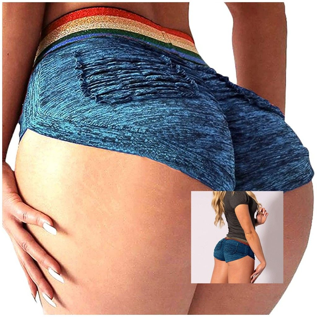 FARYSAYS Womens High Waisted Tummy Control Athletic Yoga Shorts Ruched Butt Lifting Workout Running Short