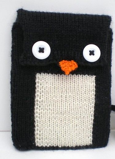 Penguin Knitting Patterns Tablet Cover Knit Patterns And Penguins
