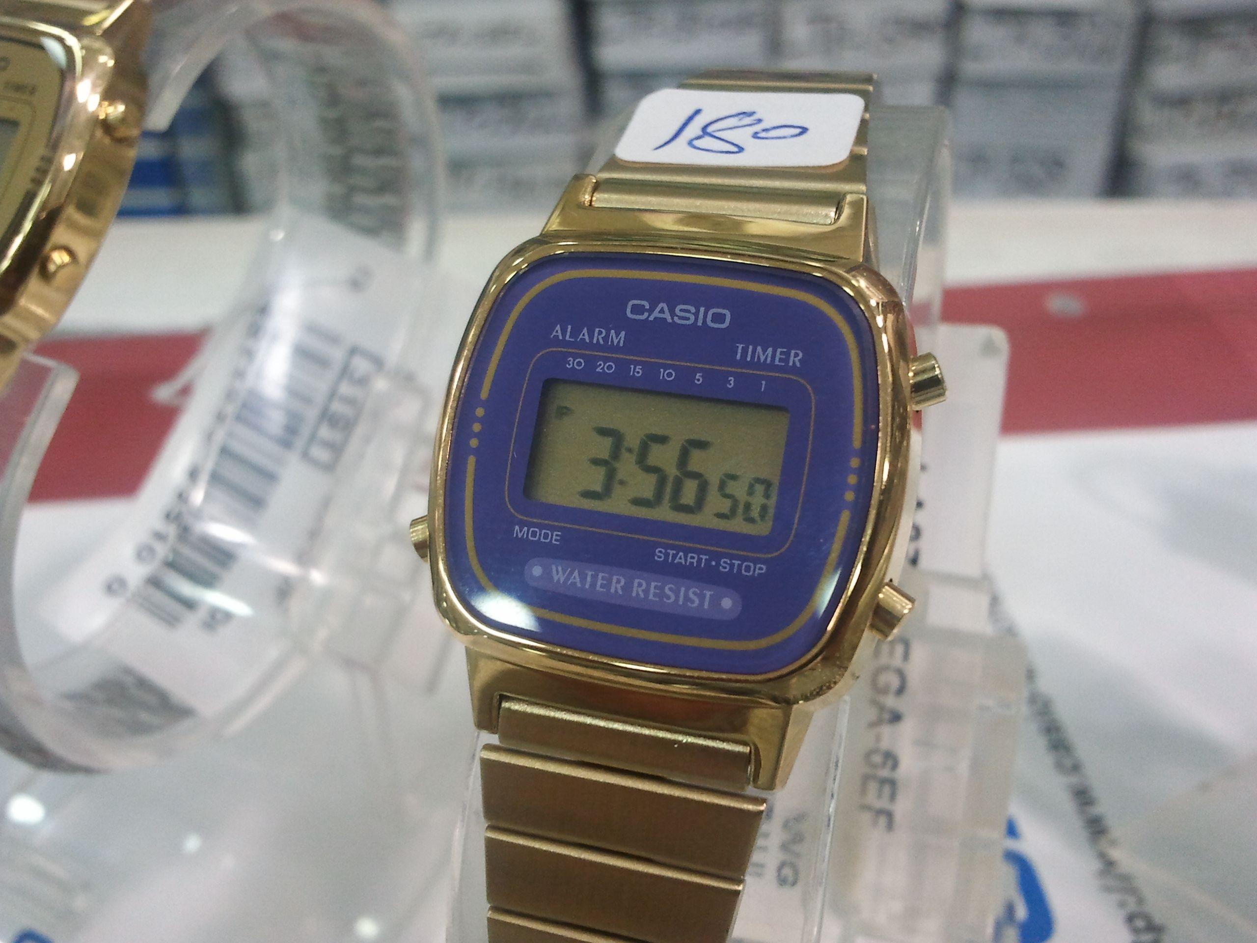 ساعة كاسيو الاصلي ضمان من الوكيل السعر 180 وللجملة اسعار خاصة Casio Watch Casio Timer