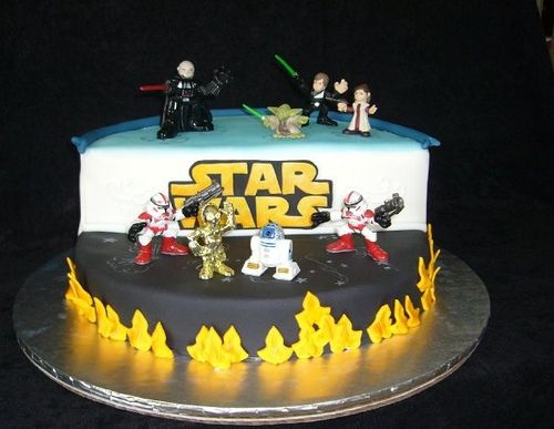 Star Wars II By Vivi O Via Flickr Birthday Cake