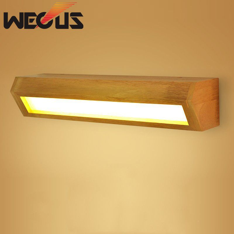 Desk Light Wall Mounted: Buy Japan Nordic Wood Wall Light Foyer Bedside Study Desk