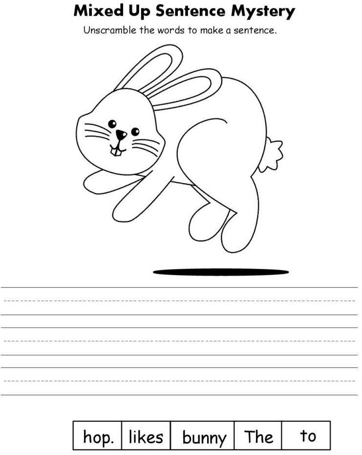 Easter Kindergarten Worksheets | Kindergarten worksheets ...