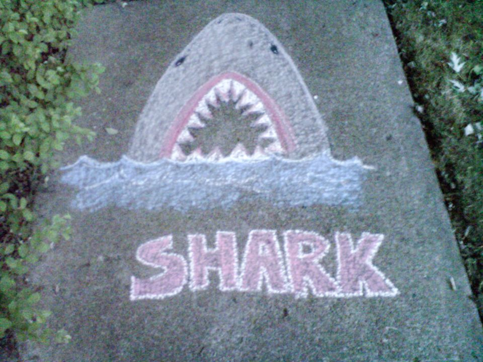 easy chalk drawings Share easy chalk