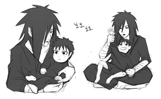 Madara and his son | Naruto - One of the Best Anime | Naruto