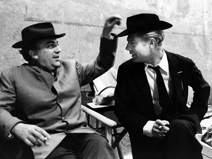 Fellini e Mastroianni, 8 e mezzo backstage | Filmmaking in 2018 ...