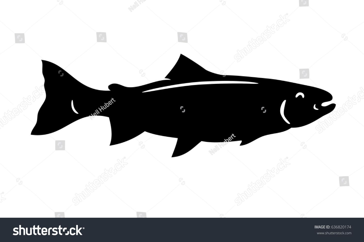 Simple Fish Silhouette Images