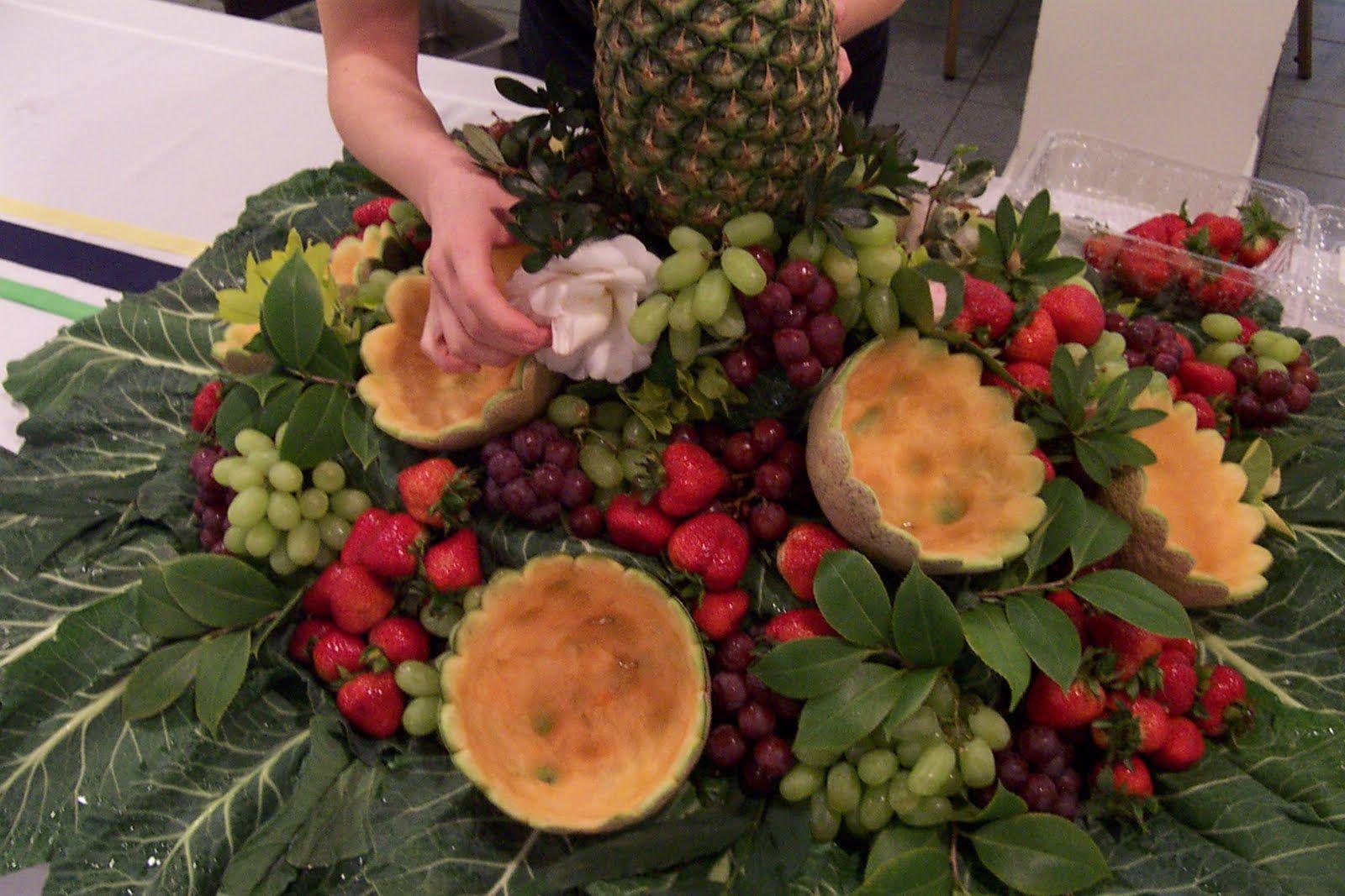 The Church Cook: Fruit Centerpiece | Entertaining | Pinterest ...