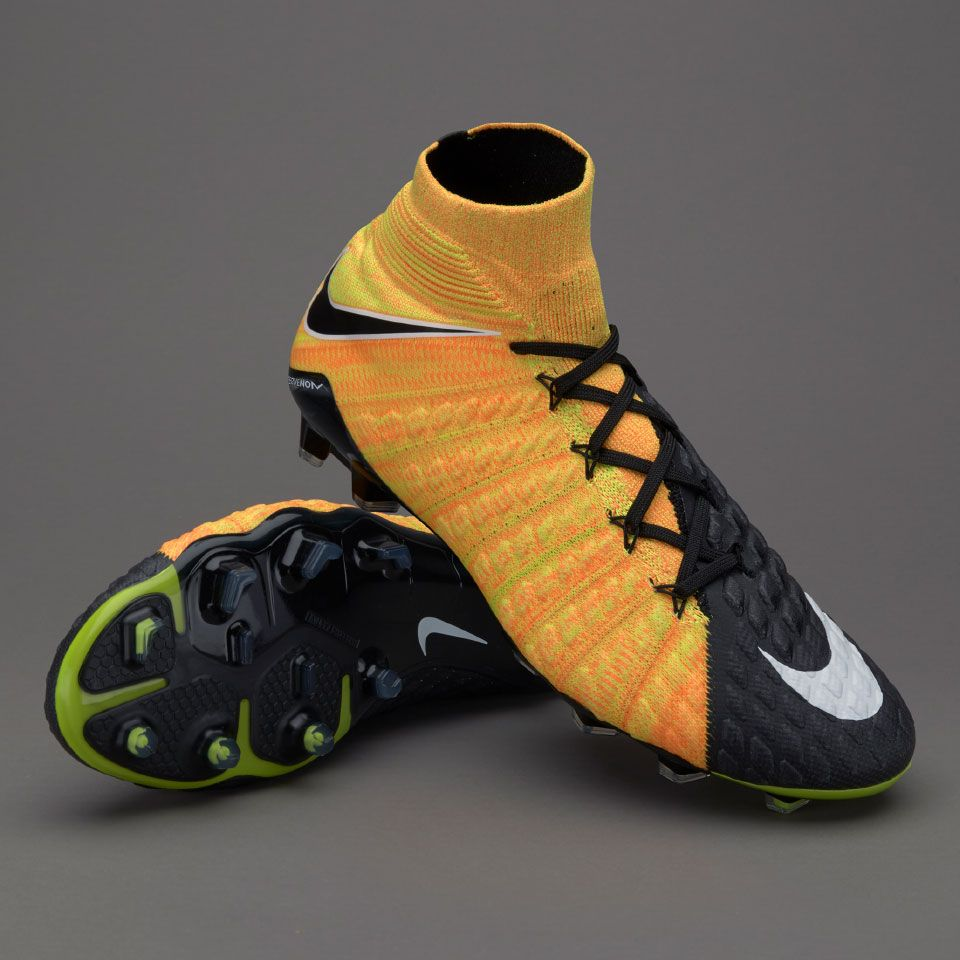 Sepatu Bola Nike Hypervenom Phantom Iii Df Fg Black White Laser