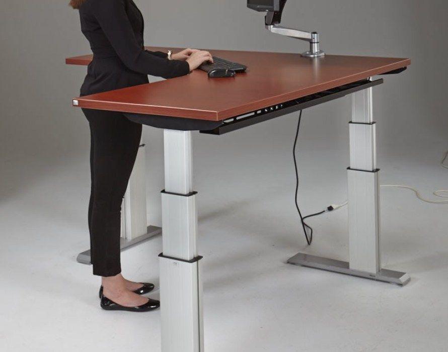 pretty nice 5c650 b6f12 desk:Stunning Height Adjustable Standing Desk NewHeights ...